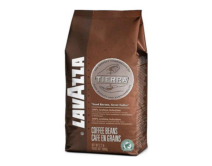 Lavazza Tierra - 1kg, zrnková káva