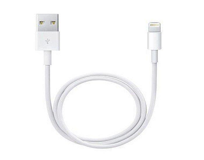 Apple originální datový kabel Lightning bílá 2m